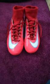 Mecurial football boots