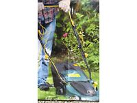 Electric Rotary Lawn Mower 1400W