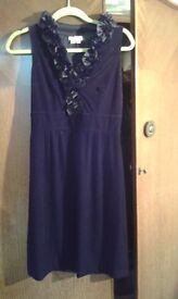 Black Cocktail velveteen dress
