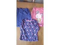 4-5 year girls long sleeve tops