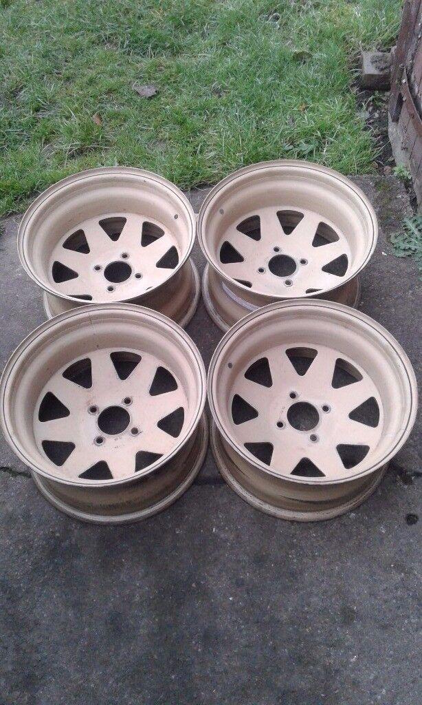 "Weller steel wheels 15"" (4×108)"