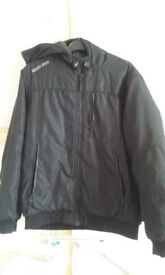 Boys 13-14yrs black jacket/coat COLLECT ONLY