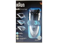 BRAND NEW ! Braun MG5090 Rechargable Shaver 3 in One. Wet & Dry Multi Groomer.