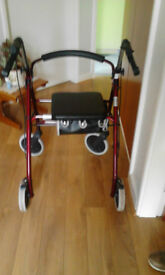 ROLLATOR, IN EXCELLENT CONDITION