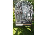 Large Bird Parrot Cage Antique