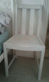 shabby chic dining chair