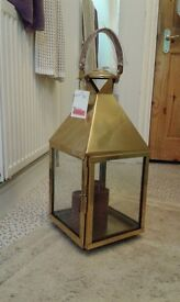 Metal candle lantern - New