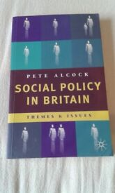 Social Policy in Britain: Themes and Issues - Pete Alcock (1st edition)