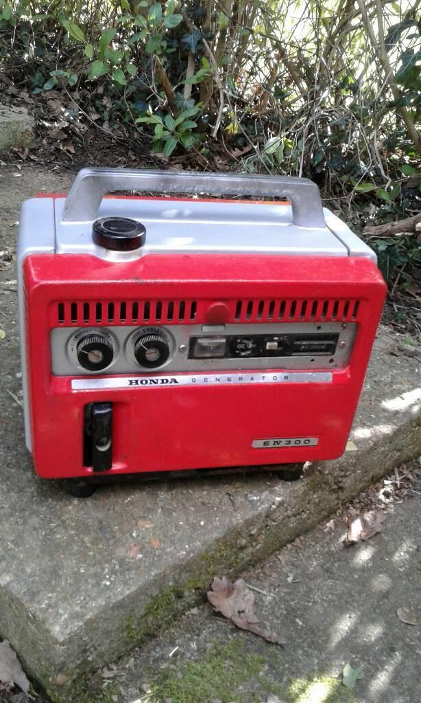 generator 1960s honda e300 for sale in horsham west. Black Bedroom Furniture Sets. Home Design Ideas