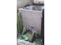 Concrete coal bunker dismantled. Free to collect.