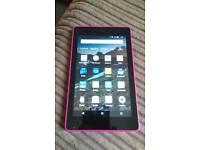 Tablet: Pink Kindle HD 6