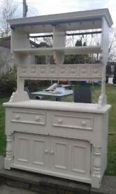 kitchen double sided island dresser