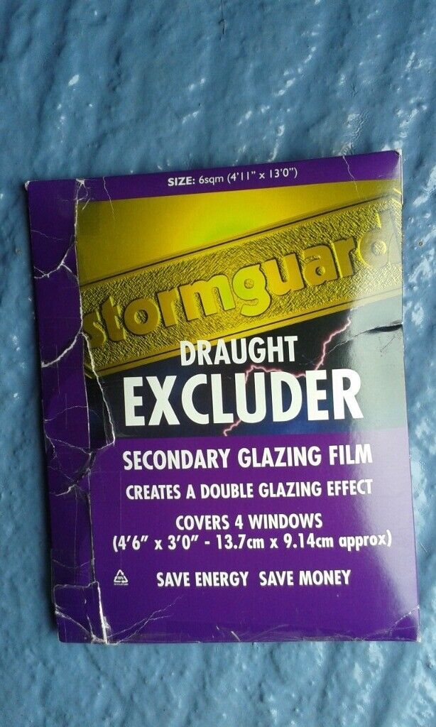 huge discount 3d00d 0bd4a Stormguard draught excluder secondary glazing film | in Bradley Stoke,  Bristol | Gumtree