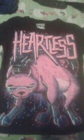 Heartless T shirt B.N.W.O.T