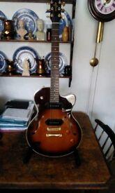 Yamaha aex502 jazz style guitar