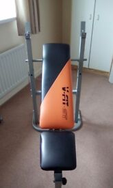 V fit st weight lifting bench excellent condition !