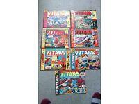 """Marvel Comics """"The Titans"""" 1975/1976"""