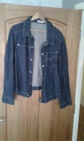 Levi engineered jeans twisted jacket medium