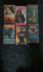 11 video tapes