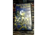 VHS Video Iron Maiden - Live After Death World Slavery Tour '85.