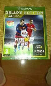 FIFA 16 deluxe edition Xbox One New