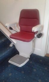 Stannah 420 Saxon stairlift (reduced)