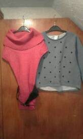 GIRLS JUMPERS.