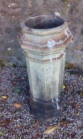 victorian octagon chimney pots