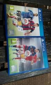 PS4 GAME'S FIFA 15 AND FIFA 16 EXCELLENT CONDITION BARGAIN £19_99