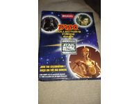 Star wars triology tazo collection