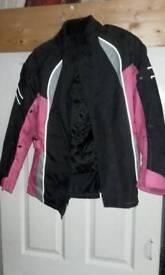 Women's textile bike jacket