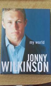 My World By Jonny Wilkinson Hardback Book