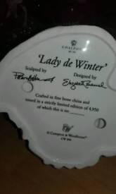 Coalport lady de winter
