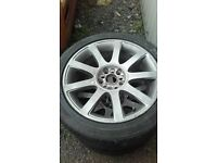 5x112 / 5x110 vw audi seat skoda alloy wheels and tyres