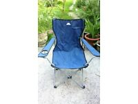 Tresspass Settle Folding Camping / Fishing Chair