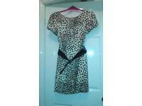 Silk Animal Print Dress - Autograph ( M&S) Size 12