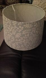 DUCK EGG BLUE LAMPSHADE!