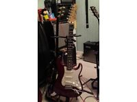 Fender stratocaster (mexican) as new