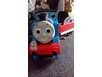 Thomas ride on train