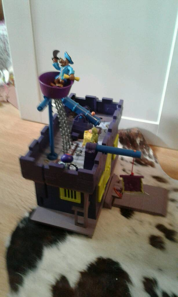 Scooby doo pirate mansion