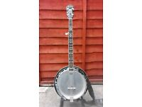 epiphon gibson mb250 banjo (bill keith D tuners)