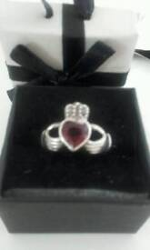 Cladagh Silver Ring