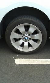BMW 17inch alloys and tyres