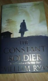 THE CONSTANT SOLDIER BY WILLIAM RYAN, HARDBACK BOOK, NEW