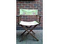 A Set of 4 Garden Chairs
