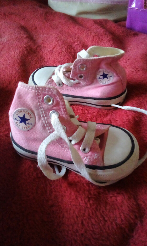 187460172a80 Converse All Stars pink baby boots