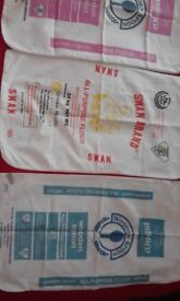 FLOUR SACKS COTTON X 11