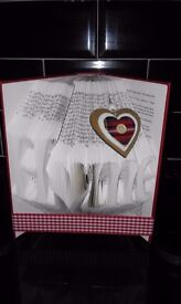 Hand Crafted Book Fold
