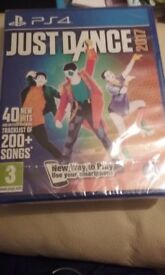 Just Dance 2017 PS4 Unopened
