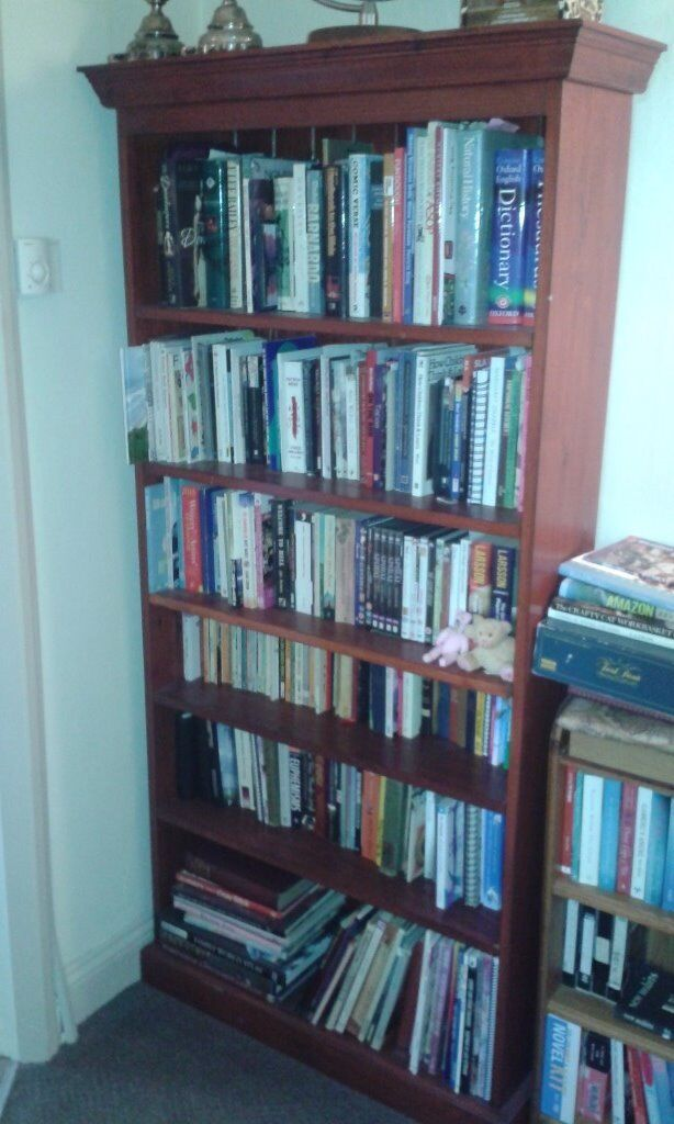 Large free standing bookcase